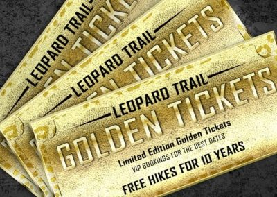 Leopard Trail Golden Ticket