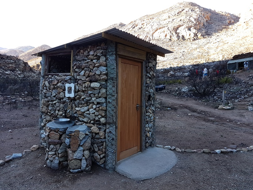 The Leopard Trail gets Flush Toilets