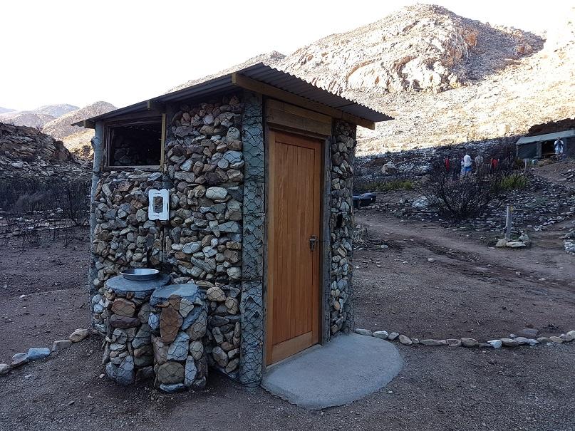 The Leopard Trail gets Flush Toilets