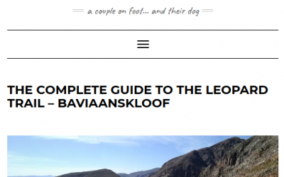 The complete guide to the Leopard Trail by No Speed Limit