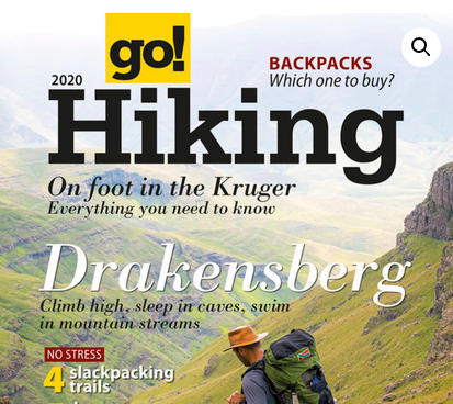 Go! / Weg! Hiking Guide 2020 features the Leopard Trail