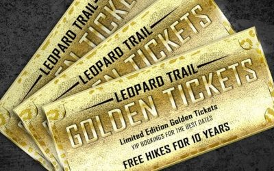 Leopard Trail Golden Tickets -Why would we do this?